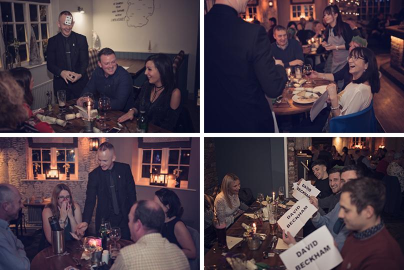 Dinner & Magic at The Royal Oak